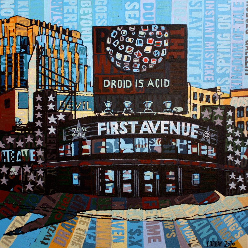 First Avenue in Minneapolis Art