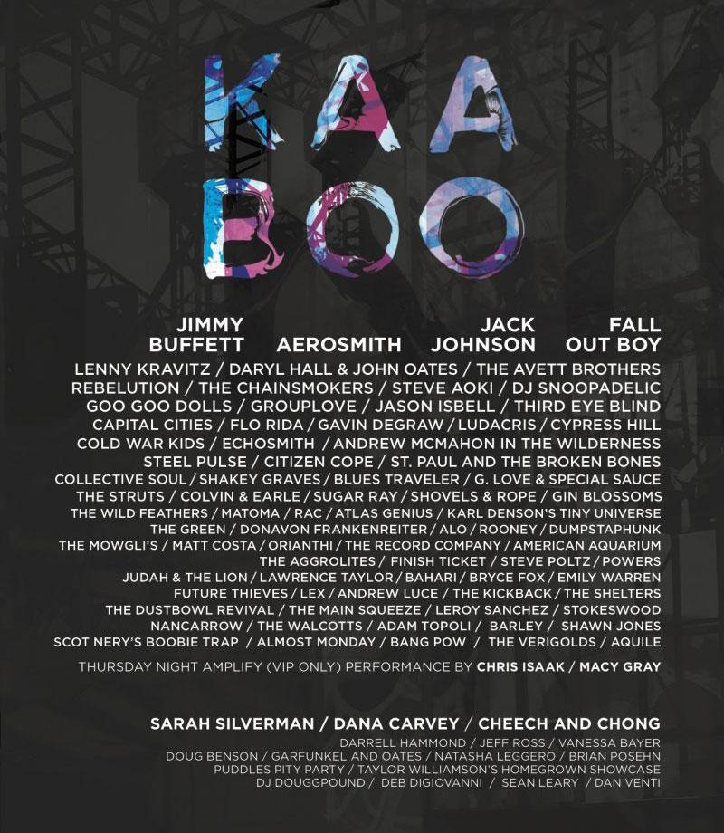 KAABOO Del Mar 2016