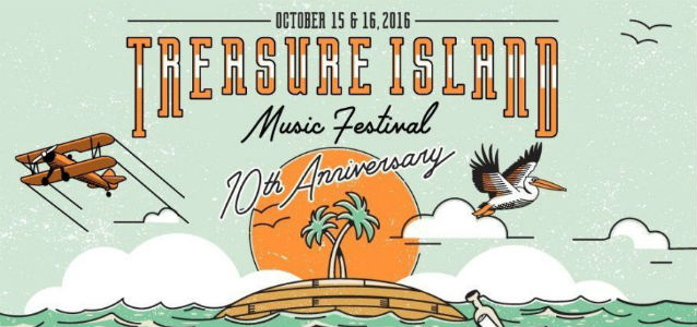 Treasure Island Music Festival 2016 (banner)