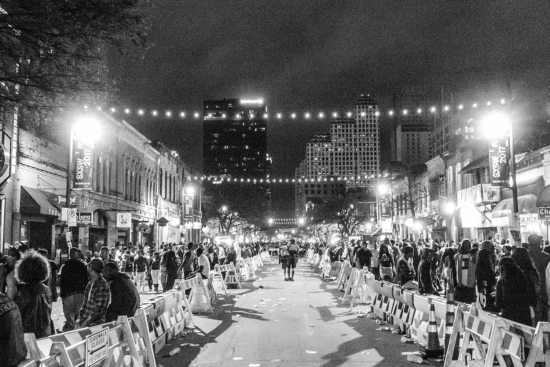 SXSW 2017 at Night