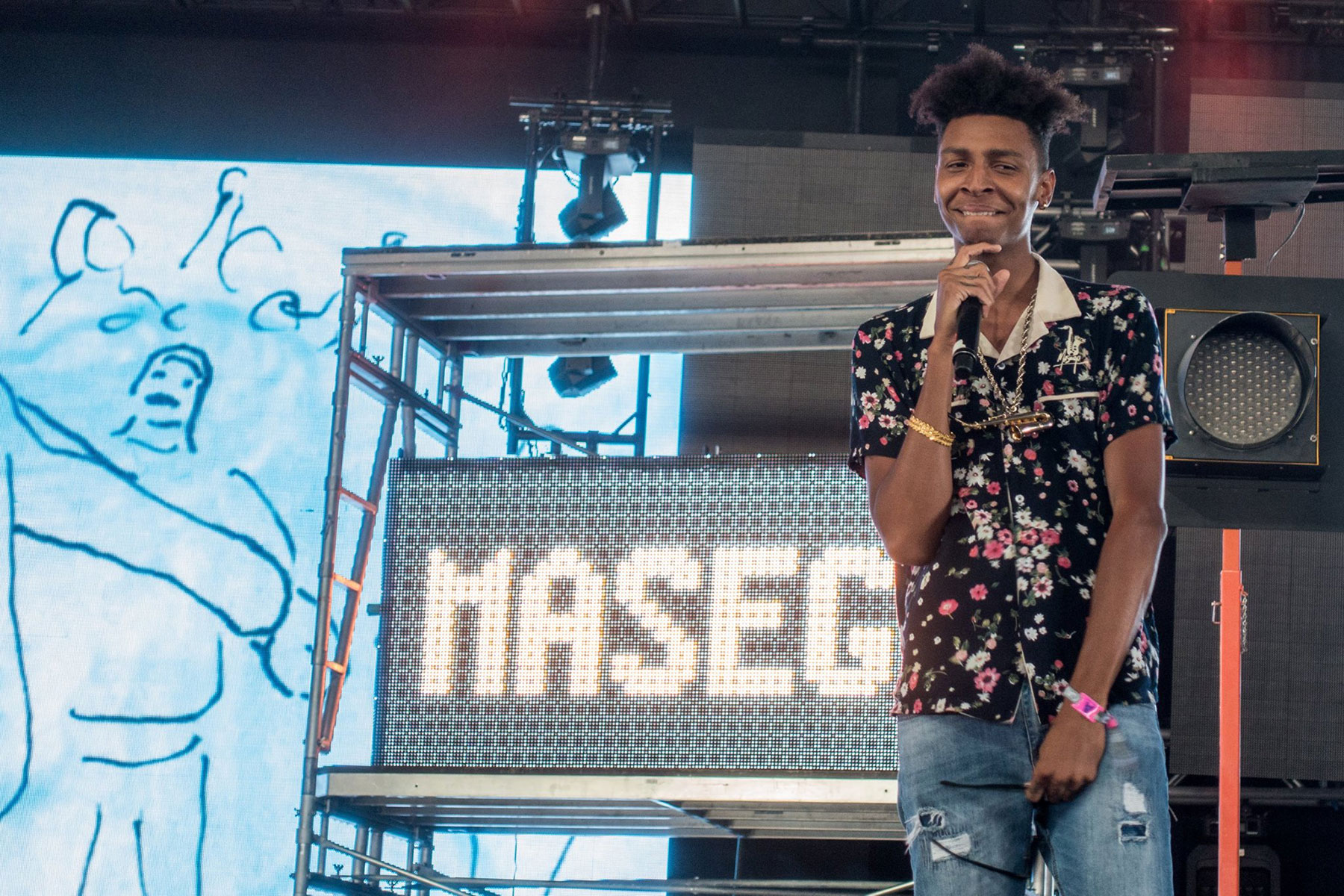 Masego at Coachella