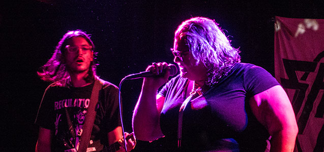 SHEER MAG at The Chapel SF (banner)