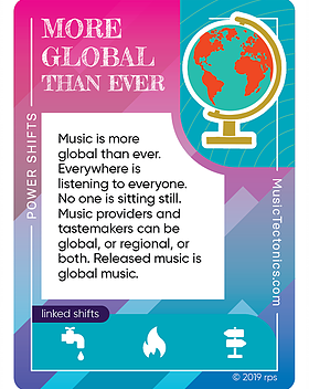 More Global Than Ever Power Shifts by Music Tectonics