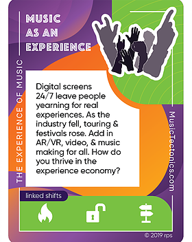 Music As An Experience Experience by Music Tectonics