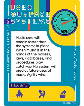 Uses Outpace Systems Fragmentation by Music Tectonics