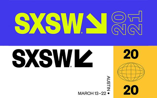 SXSW 2021 and 2020 Logos